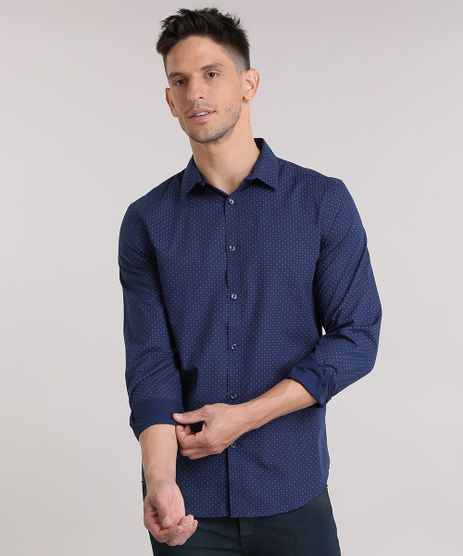 Camisa-Slim-Estampada-Azul-Marinho-8354241-Azul_Marinho_1