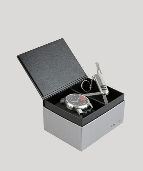 Kit-de-Relogio-Analogico-Lince-Masculino---Canivete---MRC4401S-K916PVPP-Prateado-8901714-Prateado_1