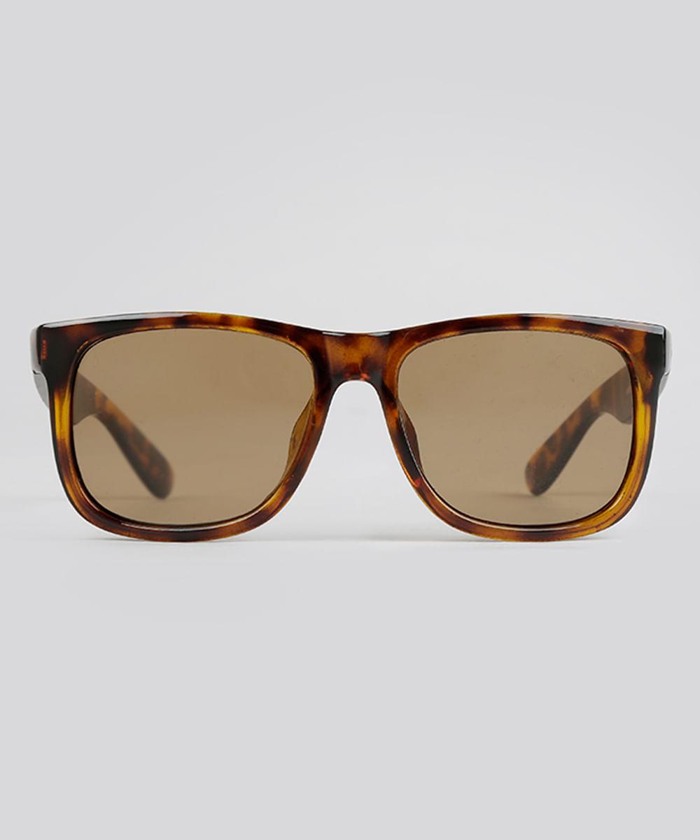 Óculos de Sol Quadrado Masculino Oneself Tartaruga - ceacollections 938693b45e