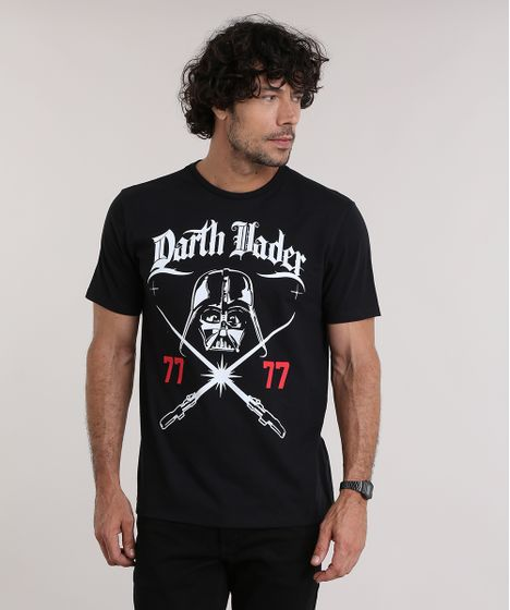 Camiseta-Darth-Vader-Preta-8938207-Preto 1 ... 71b4d51b605