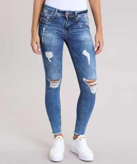 Calca-Jeans-Super-Skinny-Destroyed-Sawary-Azul-Medio-8935524-Azul_Medio_1