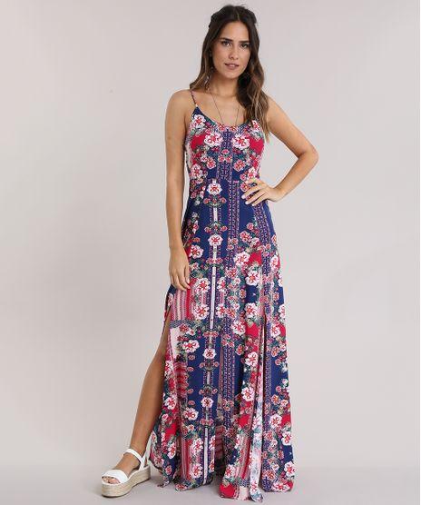 06475bb99d Vestido-Longo-Estampado-Floral-Rosa-8816179-Rosa 1