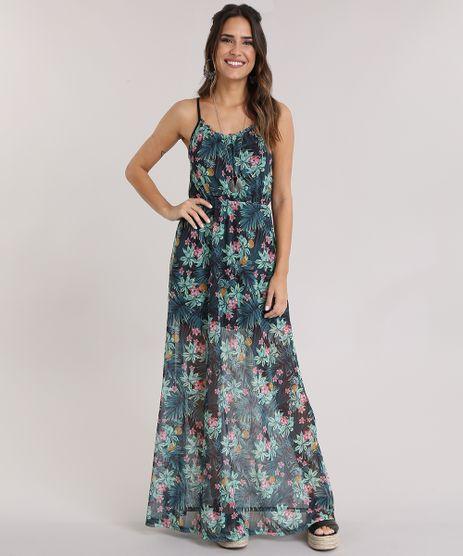 Vestido-Longo-em-Tule-Estampado-Floral-Preto-8960579-Preto_1