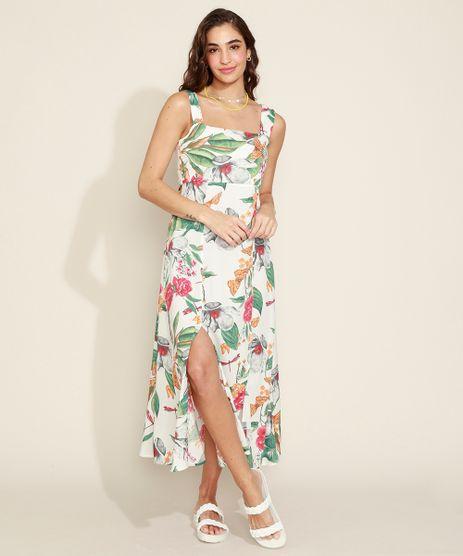 Vestido-Feminino-Longo-Estampado-Floral-com-Fenda-Alca-Larga-Branco-9967252-Branco_1