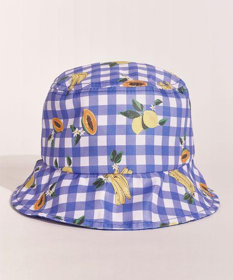 Chapeu-Infantil-EMI-Beachwear-Bucket-Hat-Estampado-Picnic-Frutas-Azul-9970259-Azul_1