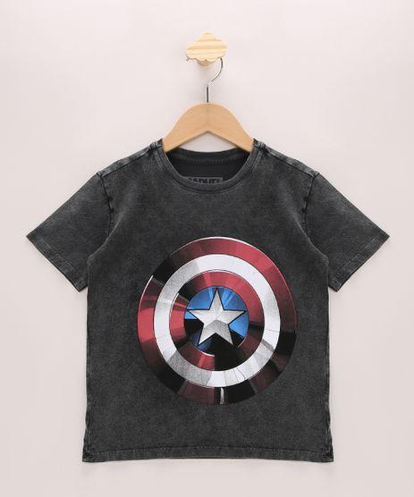 Camiseta-Infantil-Capitao-America-Manga-Curta-Gola-Careca-Preta-9968654-Preto_1