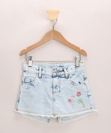 Short-Saia-Jeans-Infantil-com-Bordado-Azul-Claro-9966240-Azul_Claro_1