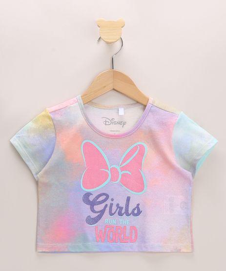 Blusa-Infantil-Cropped-Minnie-Estampada-Tie-Dye-Manga-Curta-Decote-Redondo-Multicor-9968370-Multicor_1