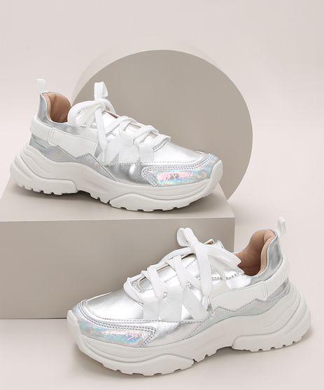 Tenis-infantil-Chunky-com-Recortes-Metalizados-Branco-9973136-Branco_1