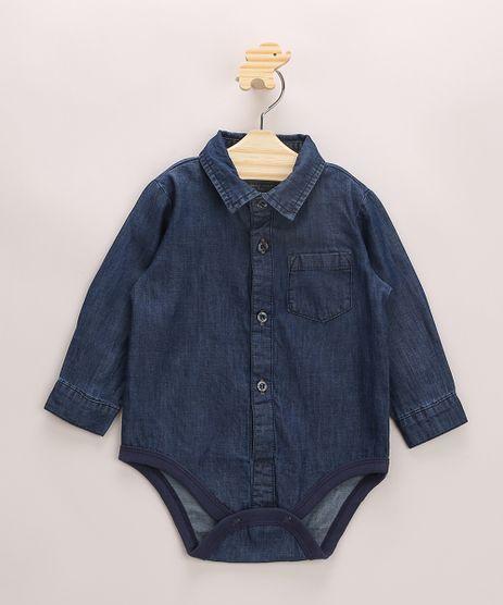 Body-Camisa-Jeans-Infantil-com-Bolso-Manga-Longa-Gola-Esporte-Azul-Escuro-9952408-Azul_Escuro_1