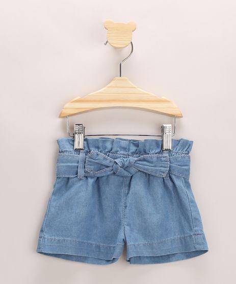 Short-Jeans-Infantil-Clochard-com-Cordao-Azul-Medio-9966137-Azul_Medio_1