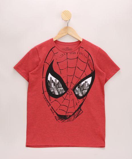 Camiseta-Infantil-Homem-Aranha-Manga-Curta-Gola-Careca-Vermelha-9970133-Vermelho_1