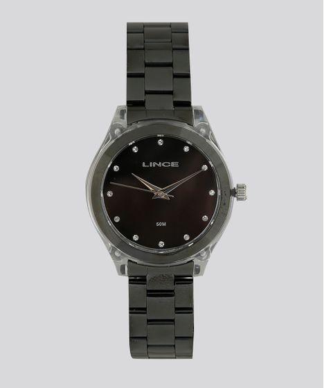 d411f5949ce Relógio Analógico Lince Feminino - LRN4431P P1PX Preto - cea