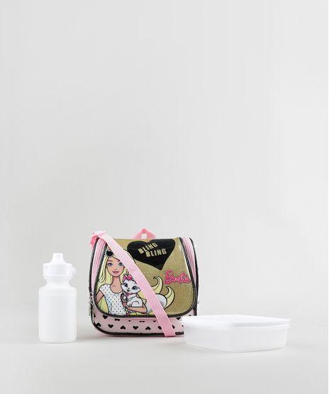 Lancheira-Termica-Escolar-Infantil-Barbie-com-Glitter-Rosa-8737436-Rosa_1