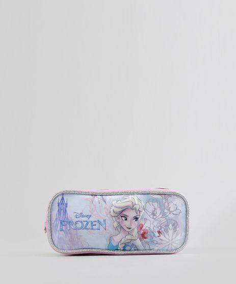 Estojo-Escolar-Infantil-Frozen--Elsa--com-2-Divisorias-3D-Rosa-8740163-Rosa_1