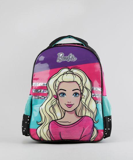 Mochila-Escolar-Infantil-Barbie-de-Costas-Preta-8744665-Preto_1