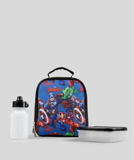 afa63f5f5 Lancheira-Termica-Escolar-Infantil-Homem-Aranha-Azul-8737424- ...