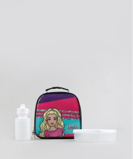 Lancheira-Termica-Escolar-Infantil-Barbie-Preta-8737433-Preto_1