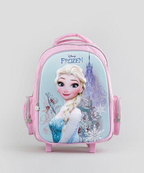 Mochila-Escolar-Infantil-Frozen--Elsa--com-Rodinhas-3D-Rosa-8744647-Rosa_1