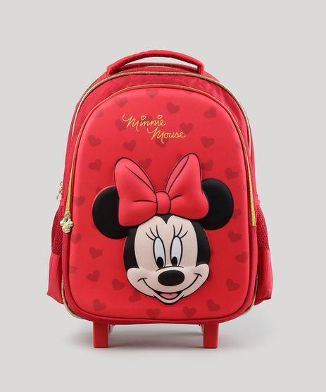Mochila-Escolar-Infantil-Minnie-com-Rodinhas-3D--Vermelha-8744686-Vermelho_1
