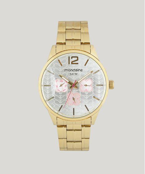6e46fb0570f Relógio Analógico Mondaine Feminino - 78737LPMVDA3 Dourado - cea