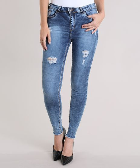 Calca-Jeans-Cigarrete-Destroyed-Azul-Medio-8972742-Azul_Medio_1