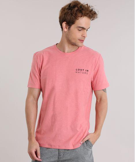 Camiseta--Lost-In-Nature--Coral-8904906-Coral 1 ... 10526f47a6da1