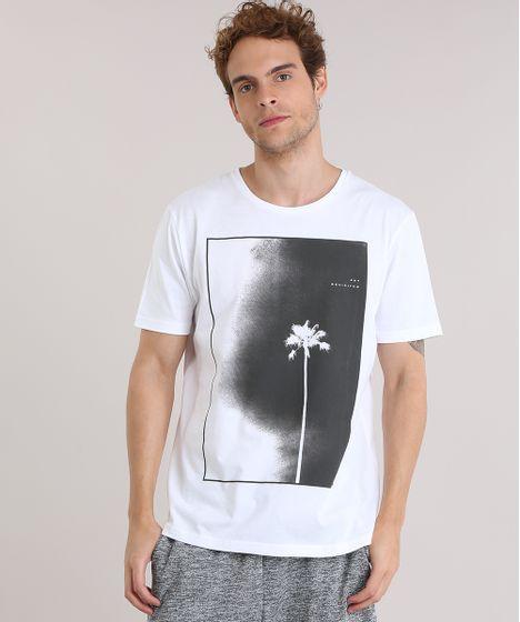 7795dacbc cea · Moda Masculina · Camisetas. Camiseta-com-Estampa-de-Coqueiro-Branca-8909207-Branco_1  ...
