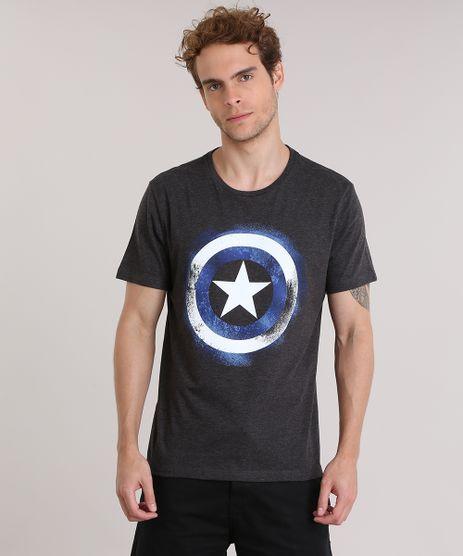 Camiseta-Capitao-America-Cinza-Mescla-Escuro-8912188-Cinza_Mescla_Escuro_1