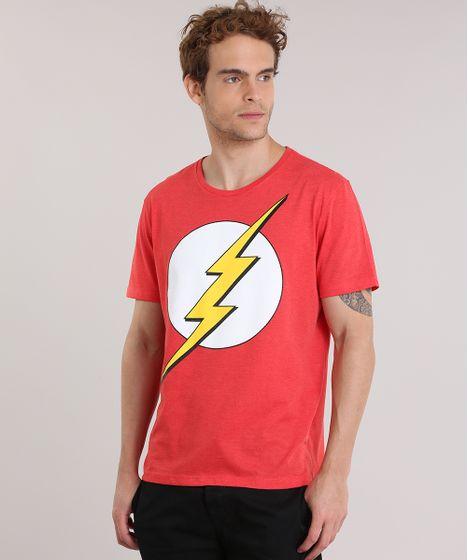 3931c4c711 Camiseta-Flash-Vermelha-8911732-Vermelho_1 ...