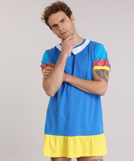 Camiseta-Branca-de-Neve-com-Capa-Azul-8933820-Azul_1