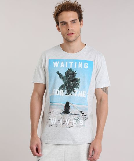 Camiseta-Mescla--Waiting-For-The-Waves--Off-White-8908433-Off_White_1