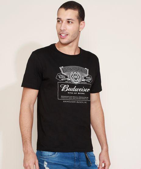 Camiseta-Masculina-Budweiser-Manga-Curta-Gola-Careca-Preta-9967742-Preto_1