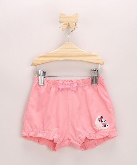 Short-Infantil-Balone-Minnie-com-Laco-Rosa-Escuro-9968501-Rosa_Escuro_1