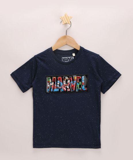 Camiseta-Infantil-Marvel-com-Relevo-Manga-Curta-Gola-Careca-Azul-Marinho-9970801-Azul_Marinho_1