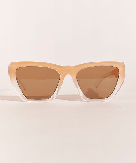 Oculos-de-Sol-Quadrado-Feminino-Feline-Rose-9966320-Rose_1