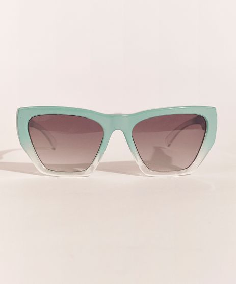 Oculos-de-Sol-Quadrado-Feminino-Feline-Verde-Claro-9966321-Verde_Claro_1