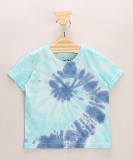 Camiseta-Infantil-Estampado-Tie-Dye-Manga-Curta-Gola-Careca-Azul-9964292-Azul_1