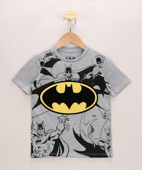 Camiseta-Infantil-Batman-Manga-Curta-Gola-Careca-Cinza-Mescla-Claro-9965888-Cinza_Mescla_Claro_1