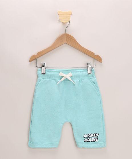Bermuda-de-Moletom-Infantil-Mickey-Mouse-Azul-Claro-9964065-Azul_Claro_1