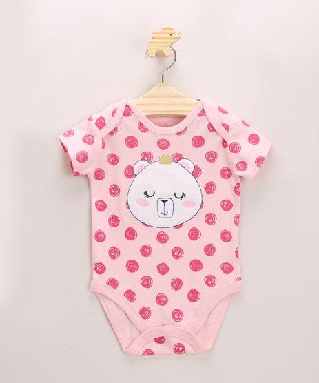 Body-Infantil-Urso-Estampado-de-Poa-com-Bordado-Manga-Curta-Rosa-Claro-9948326-Rosa_Claro_1