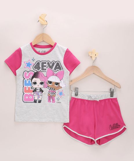 Pijama-Infantil-LOL-Surprise-Manga-Curta-Rosa-9964014-Rosa_1