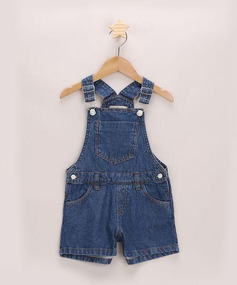 Jardineira-Jeans-Infantil-com-Bolsos-Azul-Escuro-9965930-Azul_Escuro_1