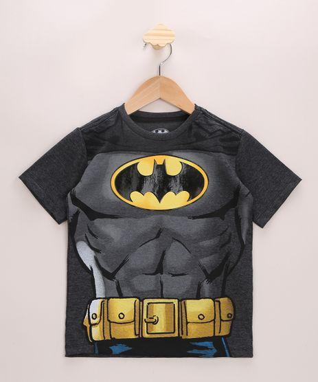 Camiseta-Infantil-Batman-Manga-Curta-Gola-Careca-Cinza-Mescla-Escuro-9965119-Cinza_Mescla_Escuro_1