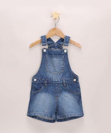 Jardineira-Jeans-Infantil-com-Bolsos-Azul-Medio-9965918-Azul_Medio_1