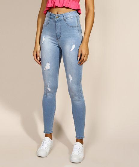 Calca-Jeans-Feminina-Sawary-Super-Skinny-Super-Lipo-Push-up-Cintura-Alta-Azul-Claro-9980097-Azul_Claro_1