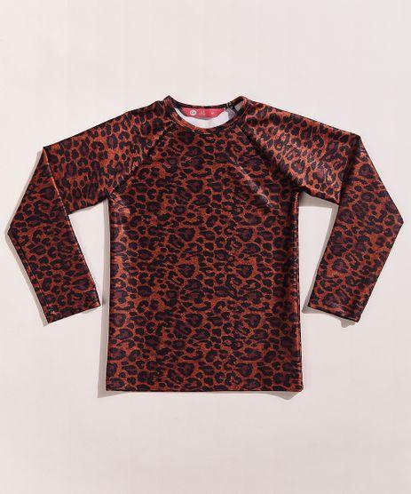 Blusa-de-Praia-Infantil-Hype-Beachwear-Estampada-Animal-Print-Onca-Manga-Longa-com-Protecao-UV50--Caramelo-9961615-Caramelo_1