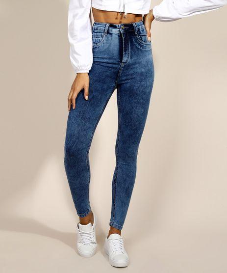 Calca-Jeans-Feminina-Sawary-Super-Skinny-Super-Push-up-Cintura-Alta-Azul-Escuro-9974654-Azul_Escuro_1