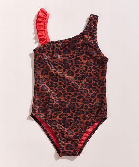 Maio-Infantil-Hype-Beachwear-Estampado-Animal-Print-Onca-com-Babado-Protecao-UV50--Caramelo-9961613-Caramelo_1