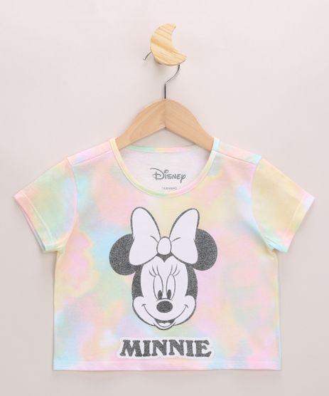 Blusa-Infantil-Cropped-Minnie-Estampado-Tie-Dye-com-Brilho-Manga-Curta-Decote-Redondo-Multicor-9968367-Multicor_1